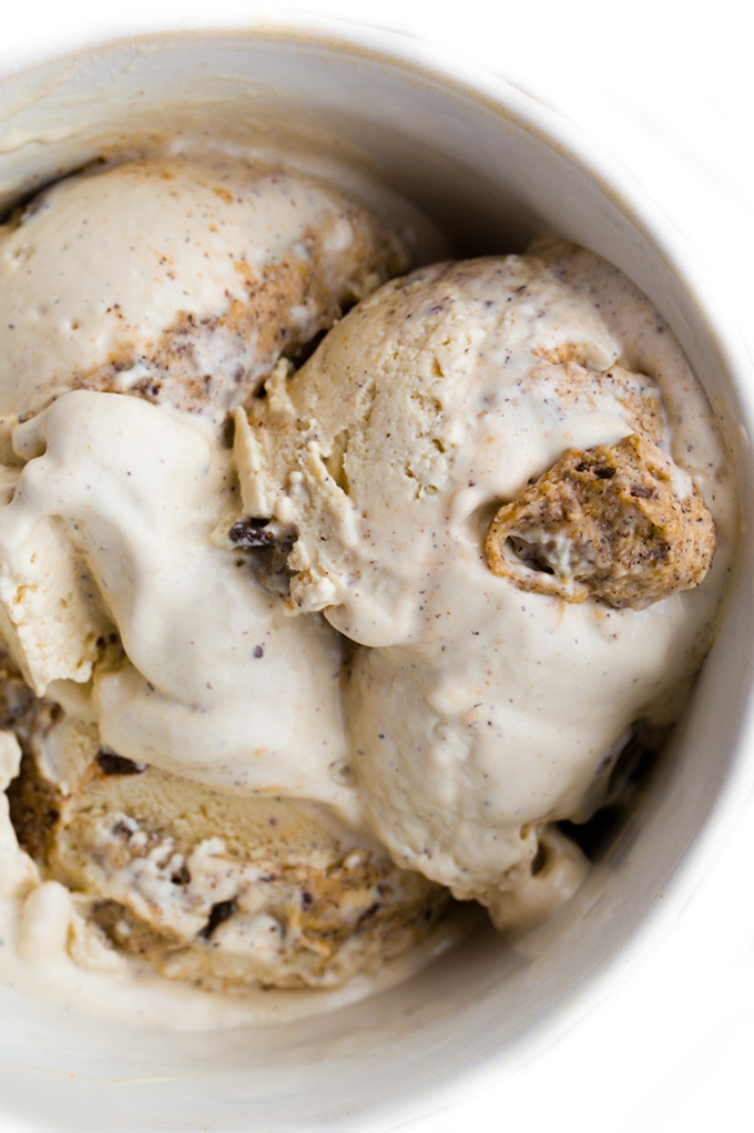 Vegan Peanut Butter And Chocolate Chip Ice Cream Chunky