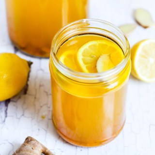 Turmeric Lemon Ginger Tea