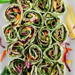 Vegan Game Day Appetizers: Avocado Deviled Potatoes & Creamy Avocado Pesto Pinwheels
