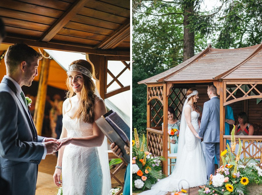 Beautiful relaxed wedding photography