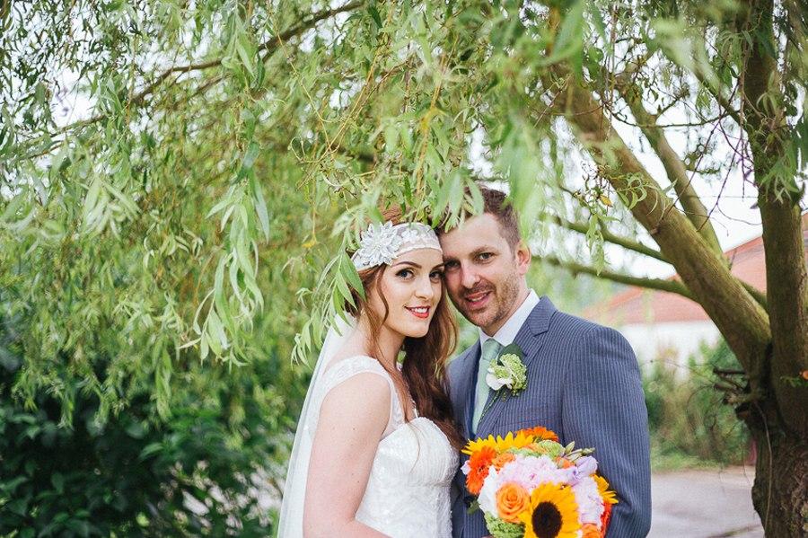 Villa farm tipi wedding