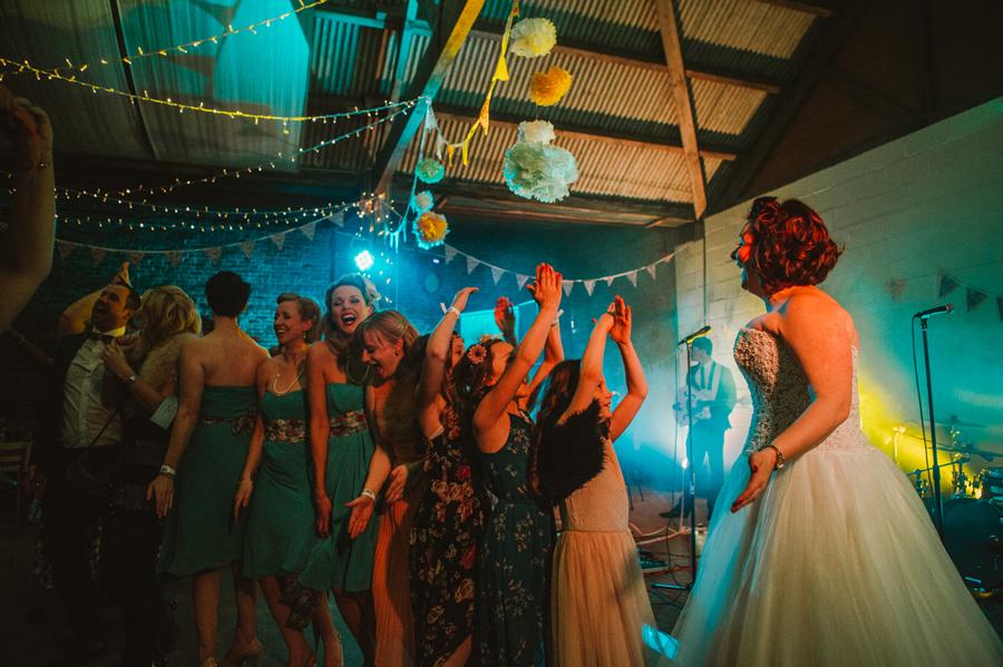 Festival Wedding Yorkshire - Barmbyfield Barns