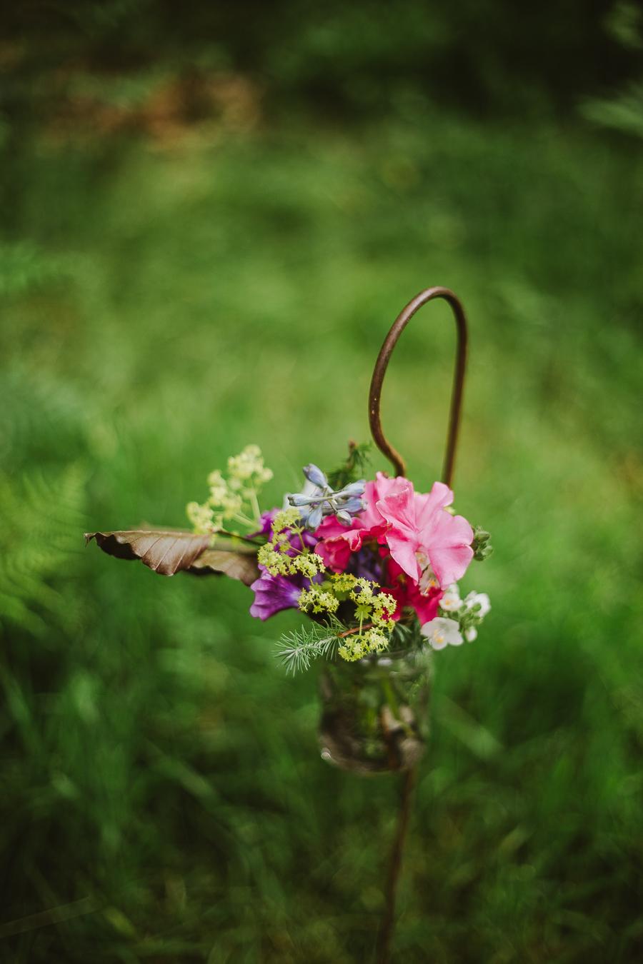 Bivouac Wedding with a woodland ceremony - Wedding Photographer York