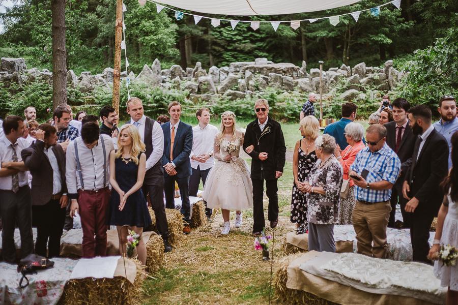 Bivouac Wedding - Woodland Wedding York-