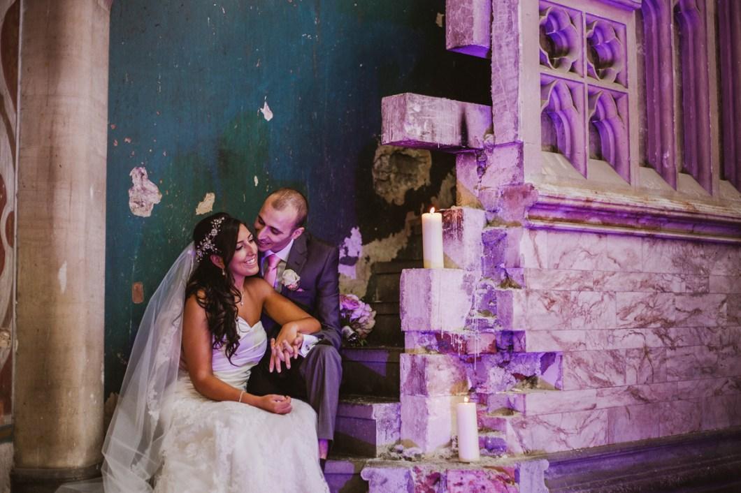 Manchester Monastery wedding photo