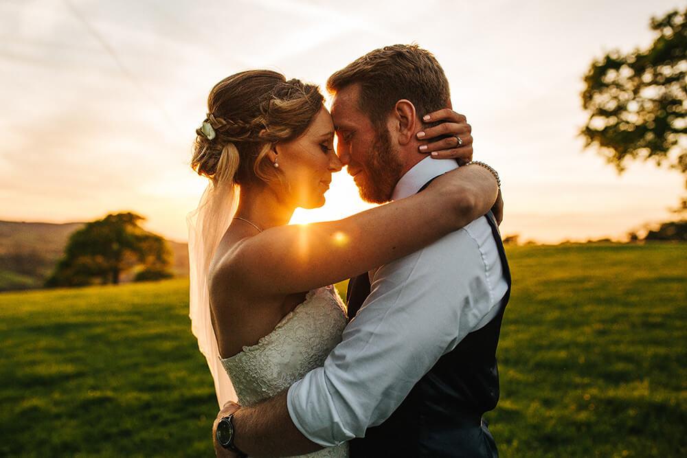 Beautiful wedding photography at Heaton House Farm