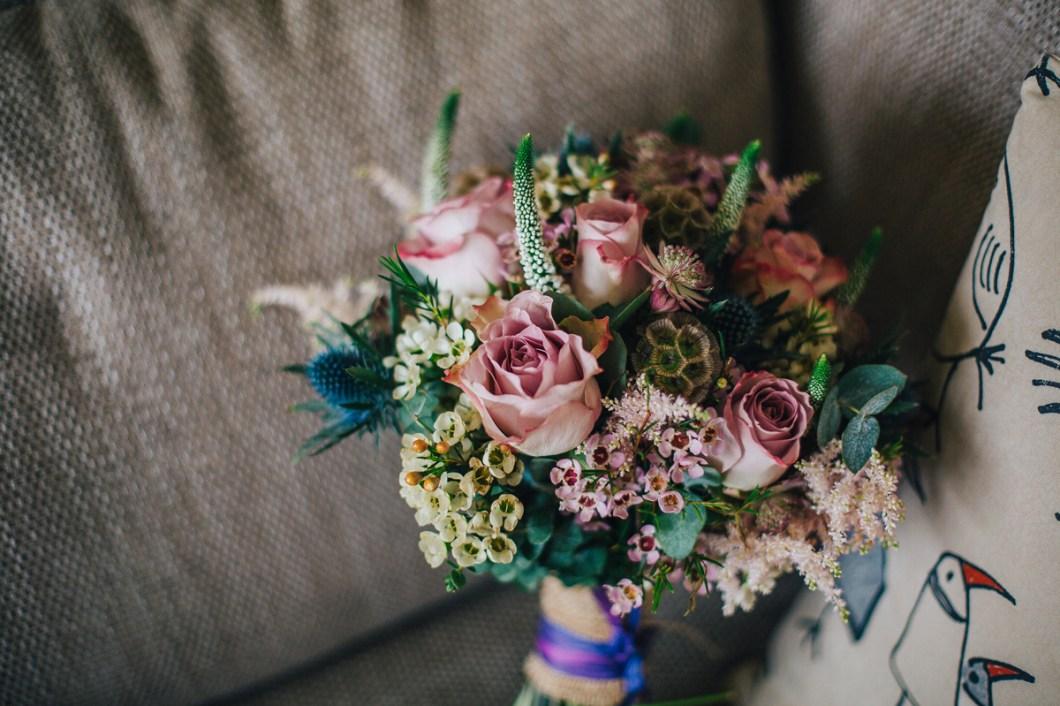 Spring wedding flowers Llangollen