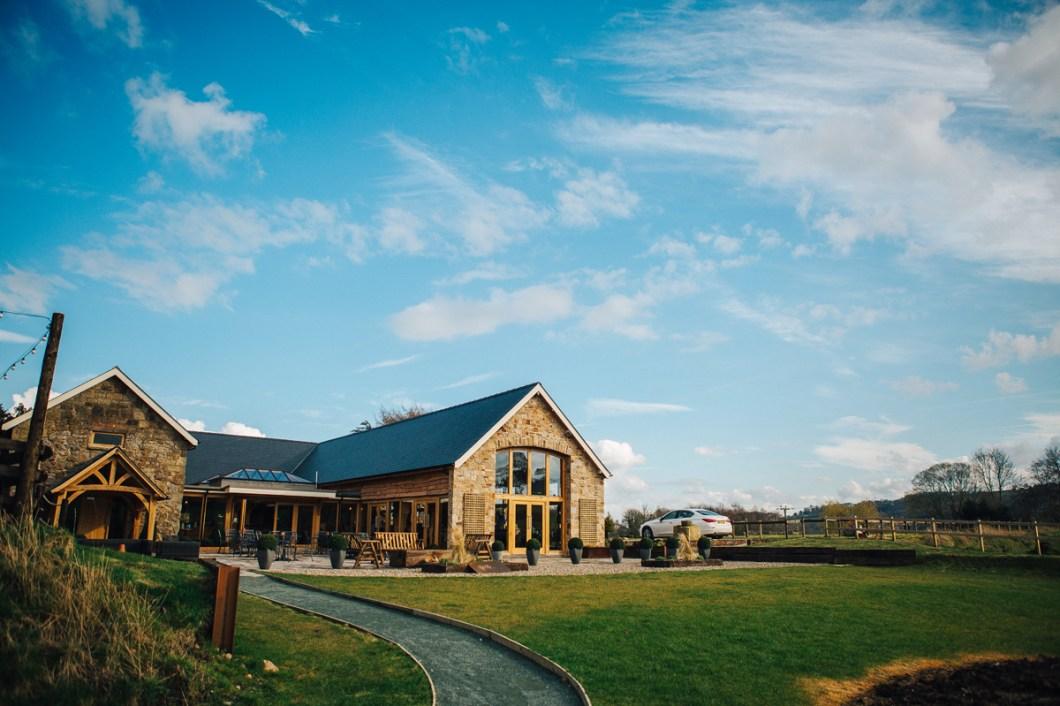 Wales wedding barn Tower Hill Barns