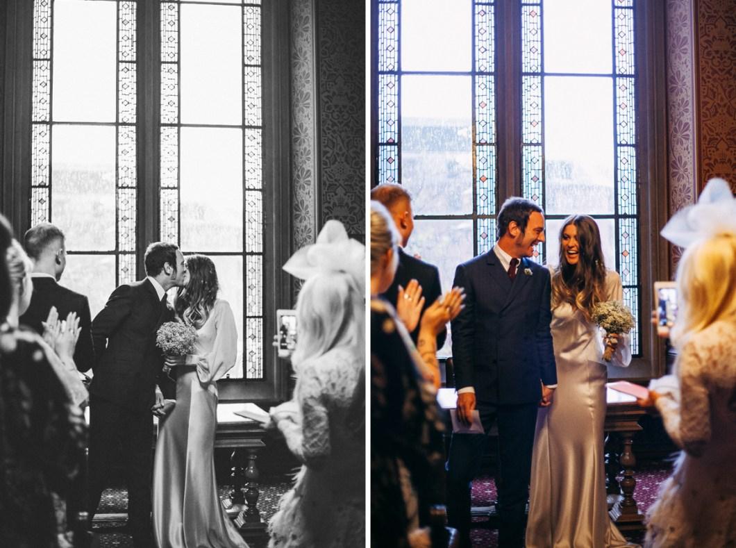 Boho 70s style wedding