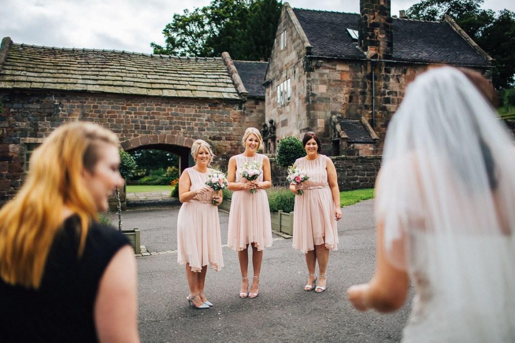 Bridesmaids reaction Ashes Barn