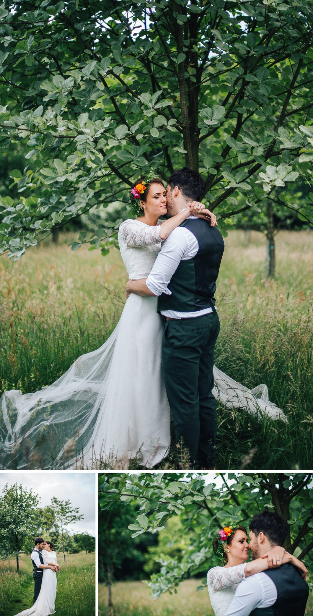Beautiful wedding photography - Spring Cottafe Rivington
