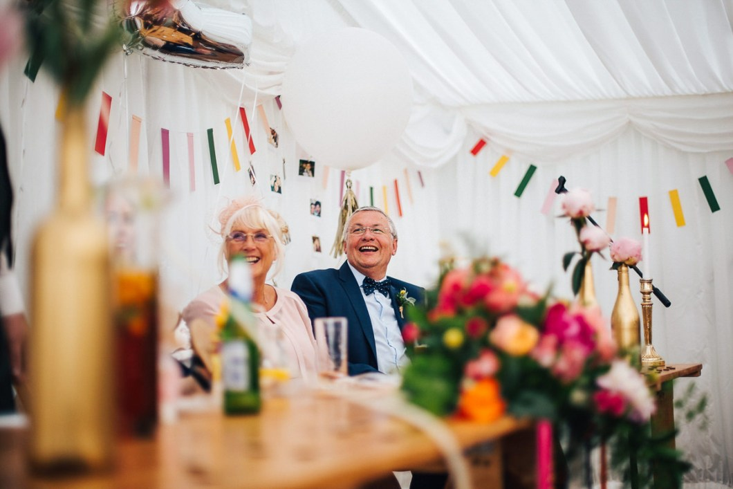 Laughter speeches, Spring Cottage wedding photography