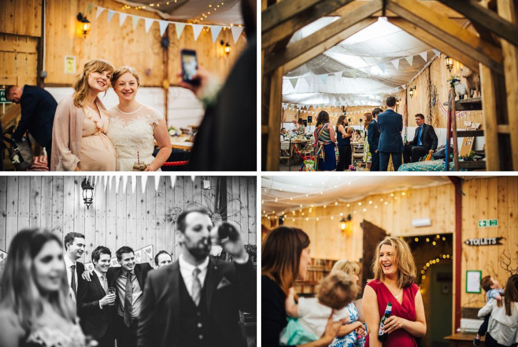 Rustic wedding in Lancashire