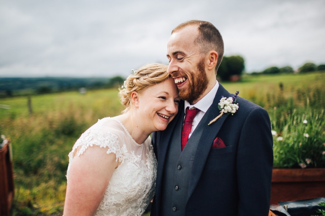 Relaxed Lancashire wedding photography