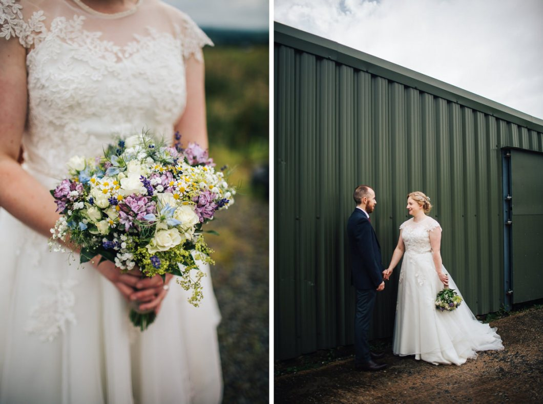 Beautiful farm wedding photography