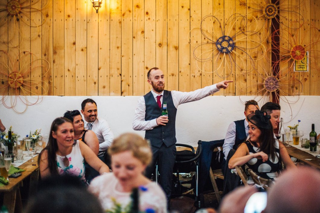 Wedding speeches Wellbeing Farm