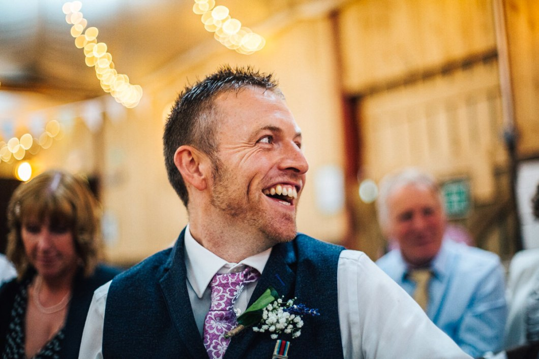 Lancashire barn wedding