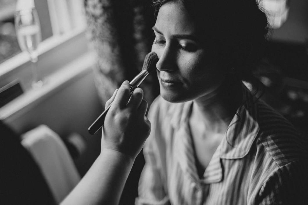 Lancashire wedding makeup