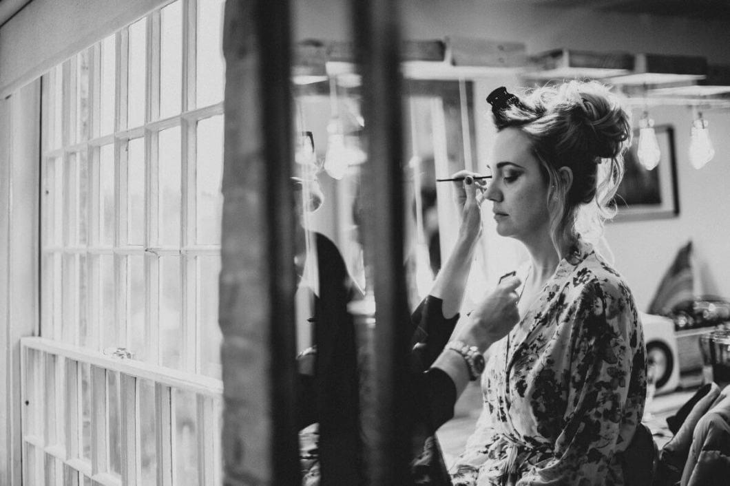 Bridal makeup Derbyshire