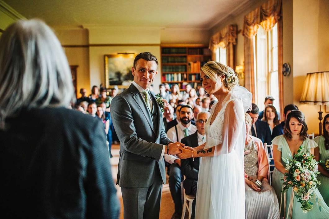 East Bridgford Hill wedding ceremony