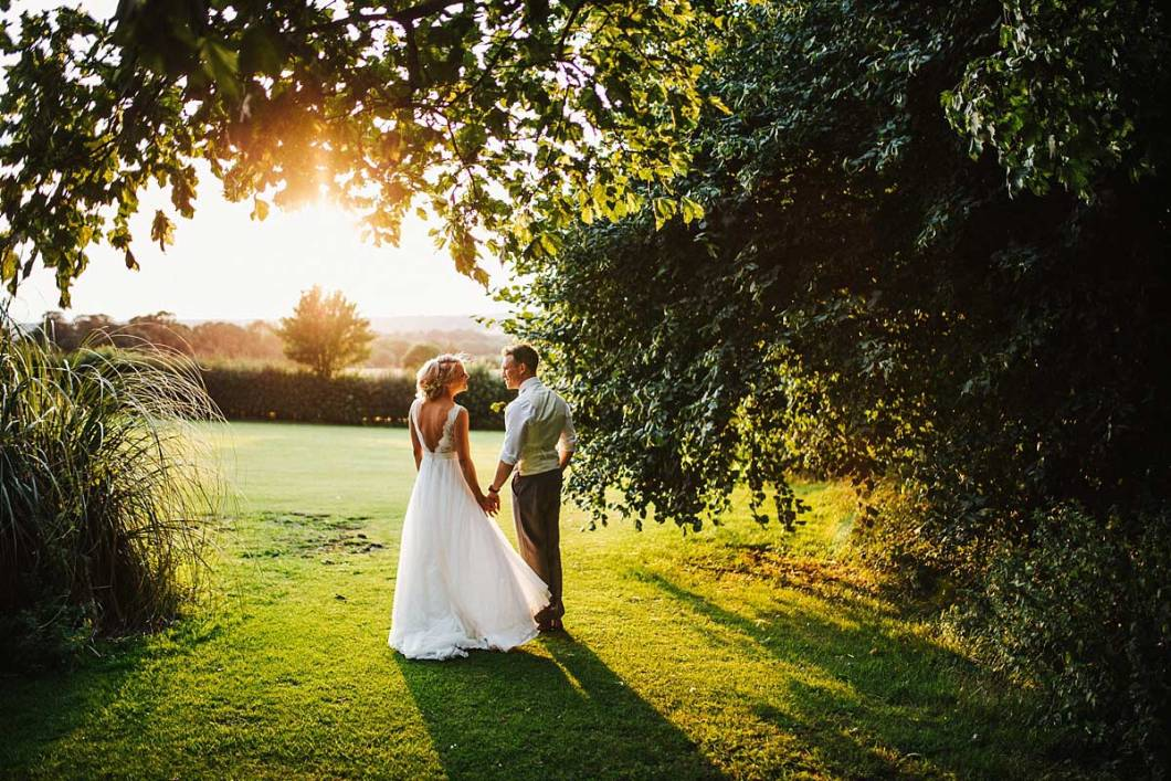 East Bridgford Hill wedding