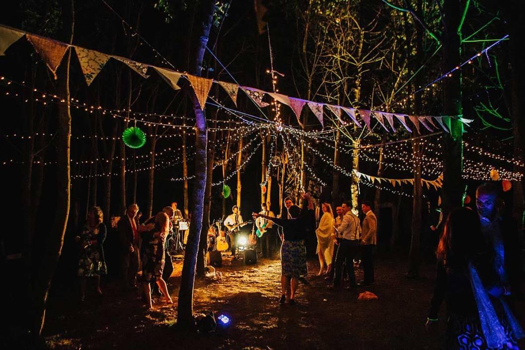 Woodland wedding East Bridgford Hill