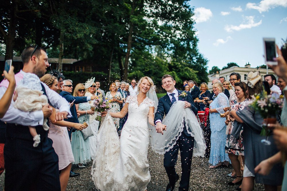 Lake District wedding Storrs Hall