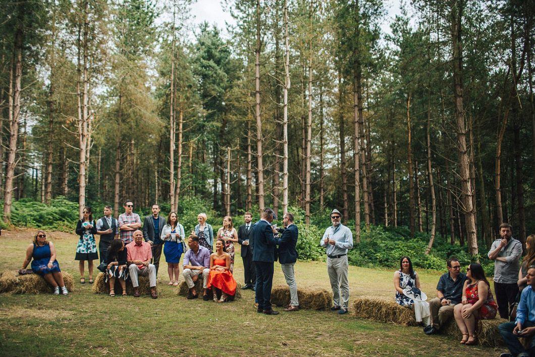 Outdoor wedding Cheshire