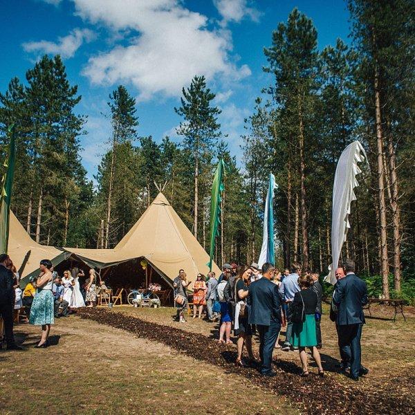 Delamere Forest Wedding