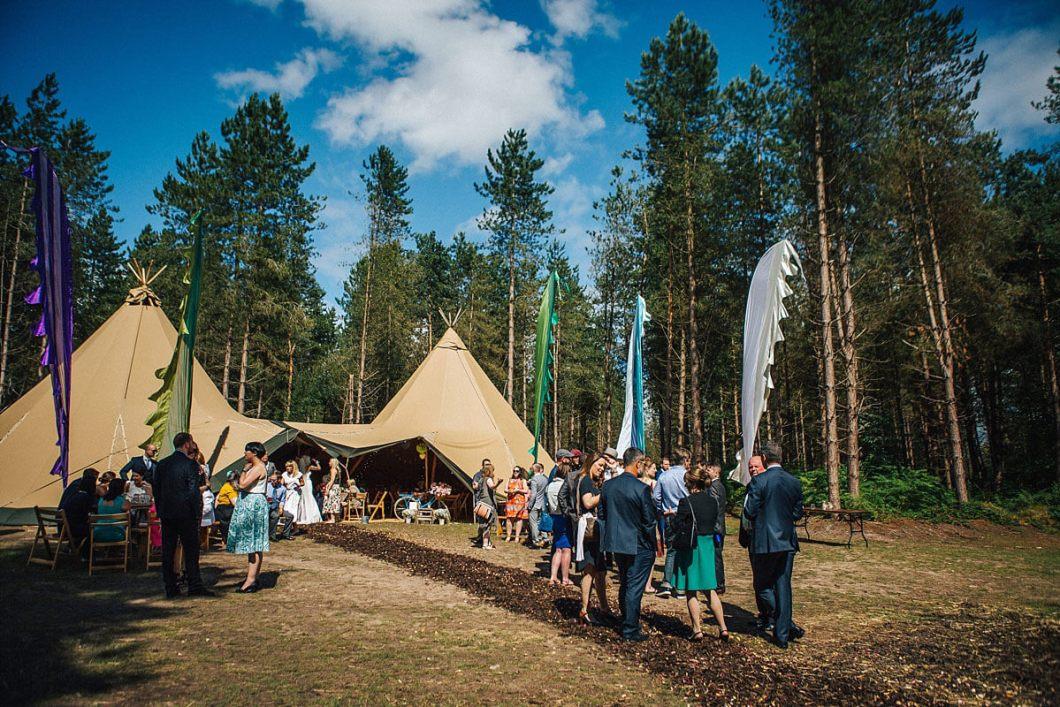 Woodland wedding Cheshire