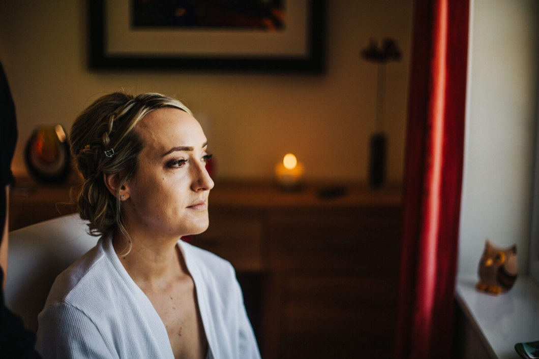 North Wales wedding makeup