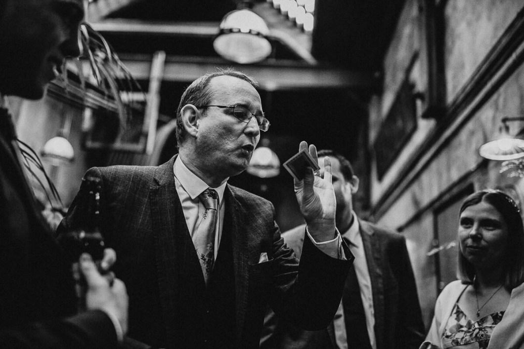 Brilliant wedding magician, Carl Royle