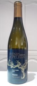 Henry of Pelham Baco Noir Reserve 2010 wine bottle