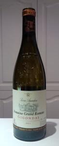 Domaine Grand Romane Gigondas 2011 wine bottle