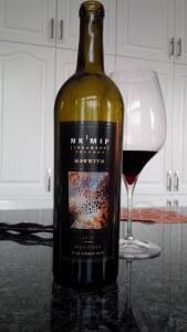 NKMIP MERITAGE MER'R'IYM 2012 wine bottle