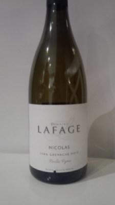Domaine Lafage Grenache Noir wine bottle