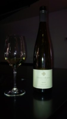 Charles Baker Picone Vineyard Riesling 2012 Wine Bottle