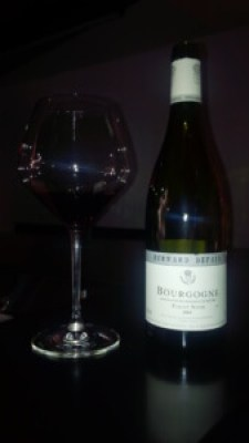 Domaine Bernard Defaix Bourgogne Rouge 2014 - Wine Review