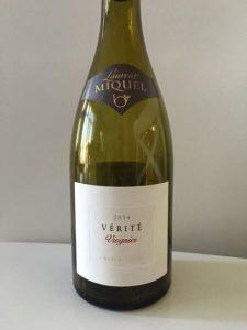 2014 Vérité Viognier Wine Bottle