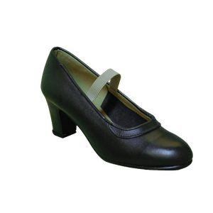 Zapato M-10 Box de flamenco, malaca