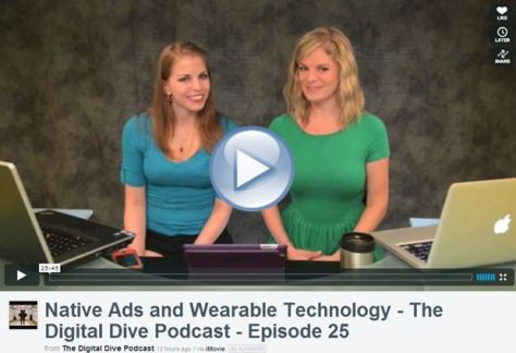 The Digital Dive Podcast video thumbnail Emily Binder and Melanie Touchstone episode 25