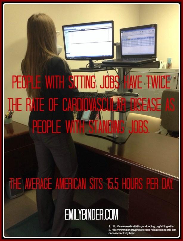 standing desk benefits