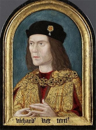 Portrait of Richard III from 1520.