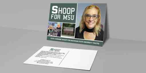 Shoop For MSU