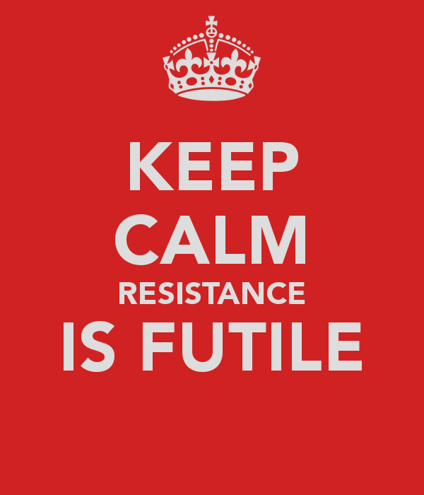Image result for no resistance