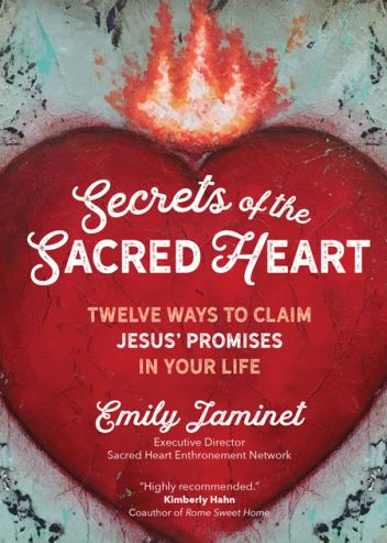 Cover of Secrets of the Sacred Heart by Emily Jaminet