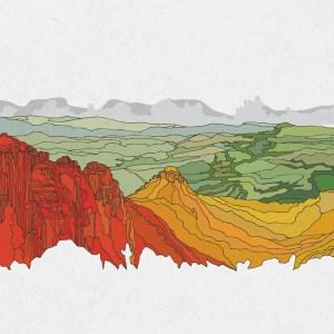 MUFG Lenticular Mural Portfolio Images