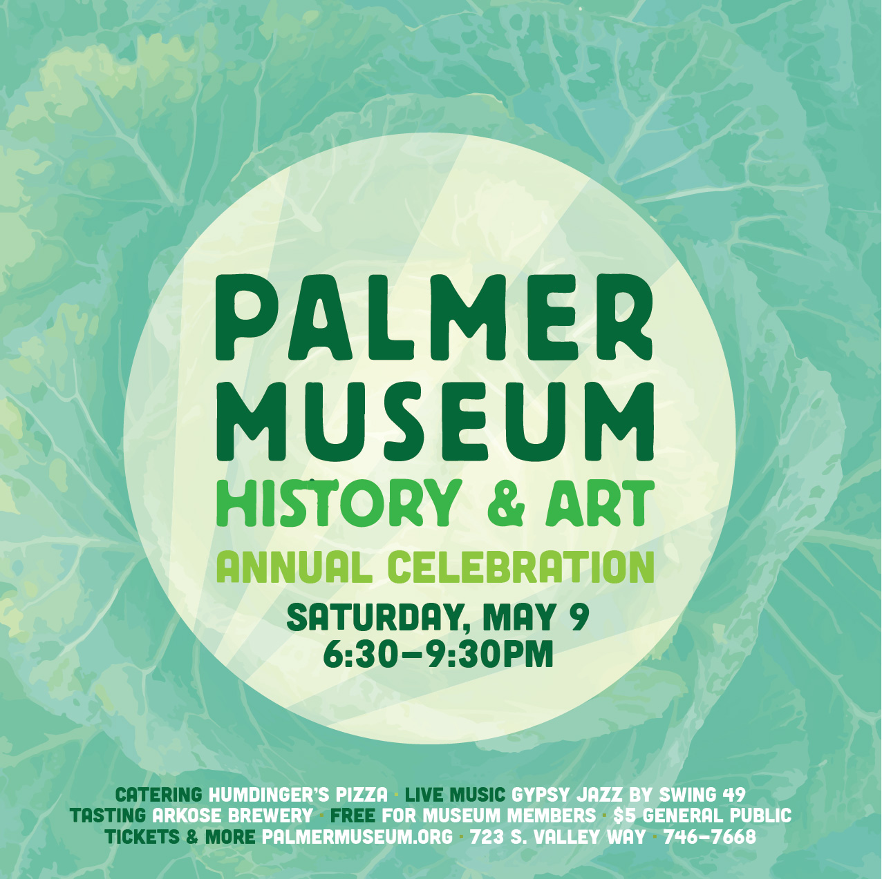Day 259: Palmer Museum Annual Celebration