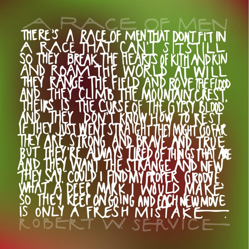 Robert Service Race Of Men Poem (8)
