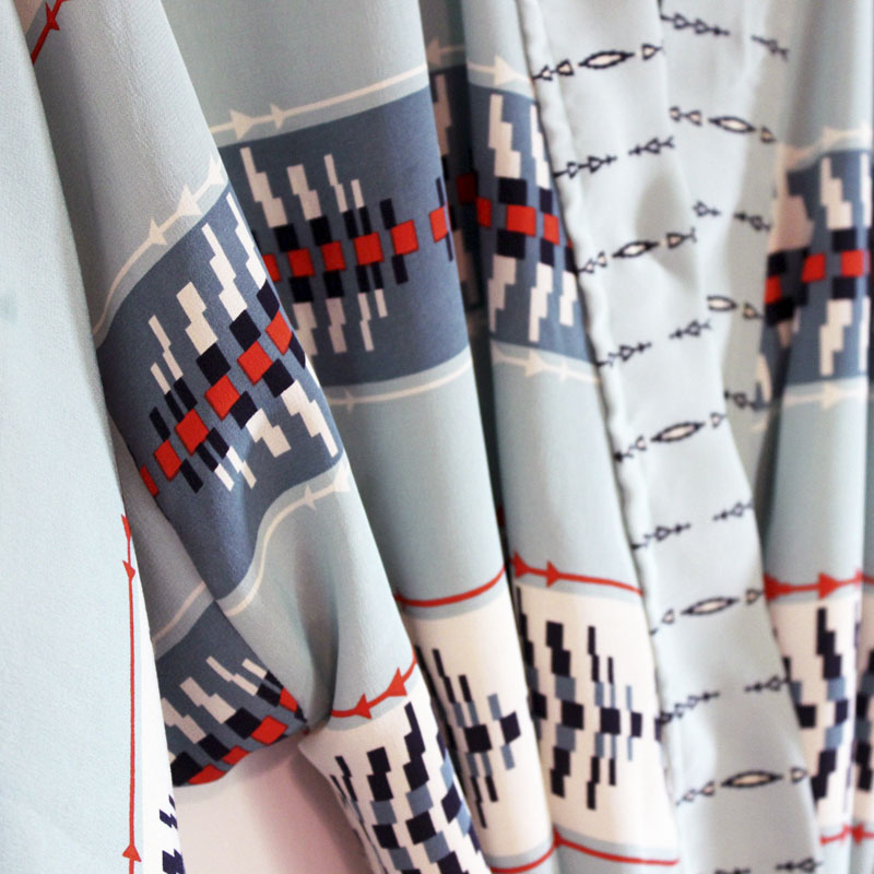 Pendleton Silk Robe Featured